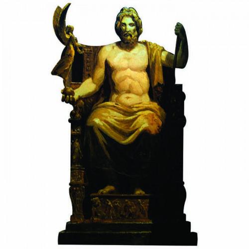Zeus Cardboard Cutout