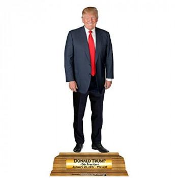 5 Donald Trump Pedestal Cardboard Cutout - $0.00