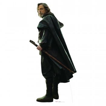 Luke Skywalker TLJ Cardboard Cutout - $44.95