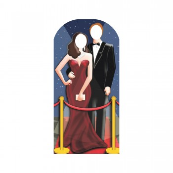 Hollywood Couple Stand In Cardboard Cutout - $44.95