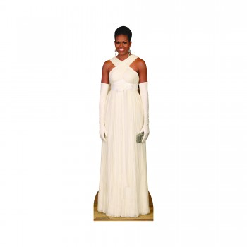 First Lady Michelle Obama Formal Cardboard Cutout