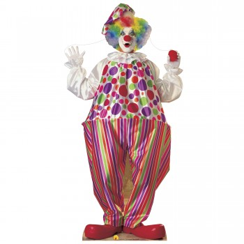 Clown Cardboard Cutout