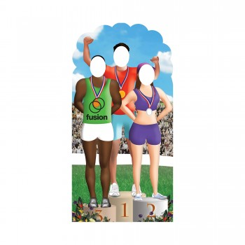 Olympic Games Stand In Cardboard Cutout - $44.95