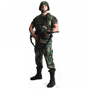 US Soldier Cardboard Cutout - $44.95