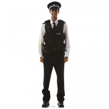 Police Man Cardboard Cutout - $44.95