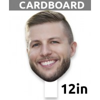 "12"" Personalized Cardboard Big Head - $15.99"