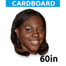 "60"" Personalized Cardboard MONSTER Big Head"